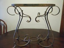 Antique French Wrought Iron Table Base
