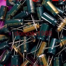 10 PCS New 2200UF 10V Radial Electrolytic Capacitor