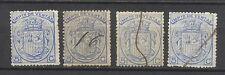 1708-SELLOS CLASICOS ESPAÑA FISCALES AÑO 1875 IMPUESTO DE VENTAS CATALOGO EDIFIL