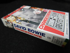 David Bowie Changesbowie Sound + Vision Greatest Hits Japan Cassette Tape 1990