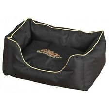 """XTREME LUXURY DELUXE LARGE DOG BED PET PUPPY  WATERPROOF BLACK 32"""""""