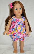 "American Girl Doll Our Generation Journey Gotz 18"" Dolls Clothes Summer Pj's"