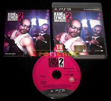 KANE & LYNCH 2 DOG DAYS Ps3 Versione Ufficiale Italiana 1ª Edizione ••• COMPLETO