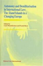 Autonomy and Demilitarisation in International Law:The Aland Islands i-ExLibrary