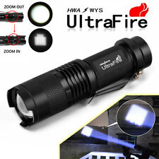 Ultrafire 5000LM CREE XM-L LED Rechargeable Flashlight Torch Super Bright Light