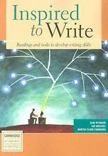 Cambridge Academic Writing Collection: Inspired to Write Student's Book :...
