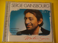 CD: SERGE GAINSBOURG Master Series Vol 1 IMPORT 1995 Universal ~ French Artist