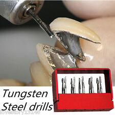 1 Box Dental SBT Tungsten Carbide Steel Inverted Cone Drills/burs FG-1957 10Pcs