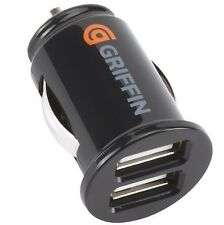 GRIFFIN POWERJOLT DUAL USB CAR CHARGER POWER ADAPTER FOR SAMSUNG iPHONE HTC