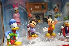 Disney Mickey's Christmas Carol Holiday Figurine Collectors Set FREE SHIPPING