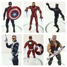 Marvel Legends SET OF 6 Civil War 2015~ Captain America~ Iron Man~ Black Panther