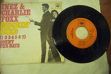 """INEZ&CHARLIE FOXX"""" MOCKING BIRD-disco 45 giri CBS Germany 1969"""""""