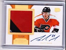 11-12 2011-12 DOMINION MATT READ HORIZONTAL PATCH AUTO /24 196 FLYERS