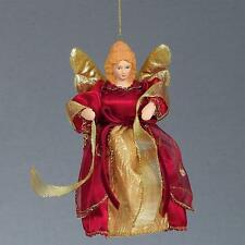 "Premier Christmas 6"" Tree Top / Hanging Angel Decoration - 4 Colours"