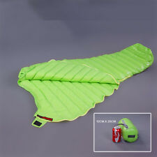 Outdoor 95% Natural Urltra-Light Goose Down Compactable Sleeping Bag Mummy 440g