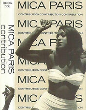 Mica Paris ‎Contribution CASSETTE ALBUM Downtempo, Jazzdance, Disco, Acid Jazz