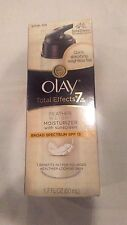 Olay Total Effects 7 in one 1 Moisturizer Sunscreen Broad Spectrum SPF15 new