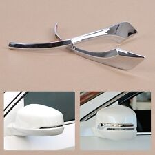 For Honda Accord 2013 2014 Chrome Rearview Mirror Side Cover Protector Trim