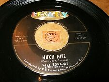 GARY EDWARDS & THE EMBERS - HITCH HIKE - YESTERDAY'S   / LISTEN - SOUL POPCORN