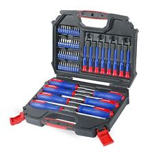 WORKPRO 56PC Screwdriver Bits Set CR-V Driver Precision Slotted Phillips Square