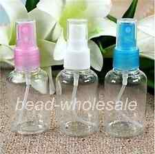 50ML 3pcs Mini empty small PlasticTransparent Perfume/water Spray Bottle  Makeup