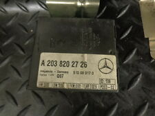 2002 MERCEDES C CLASS C270 CDI W203 ANTI THEFT ALARM MODULE A2038202726