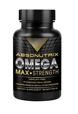 Absonutrix Omega 3 Max Strength Fish Oil EPA-800 DHA-600