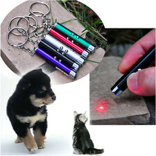 White LED Light Childrens Cat Toy Pet Accessories Pet 2 In1 Red Pointer Pen