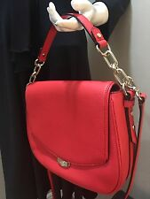 Kate Spade Mulberry Street Alecia Handbag Crossbody- Red Cherryliqr Leather NWT