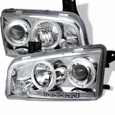 Spyder - PRO-YD-DCH05-LED-C - Projector Headlights - LED - Halogen Only - Chrome