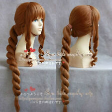 Final Fantasy Type-0 / Cinque Brown Debatte weben Form Perücke Cosplay Wig