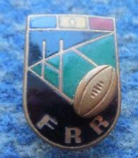 ROMANIA RUGBY UNION FEDERATION 1970's ENAMEL PIN BADGE