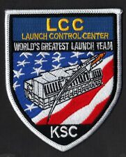 LCC - LAUNCH CONTROL CENTER - WORLDS GREATEST LAUNCH TEAM - KSC NASA SPACE PATCH