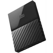 WD My Passport WDBYNN0010BBK-WESN 1 TB External Hard Drive - USB 3.0 - Black