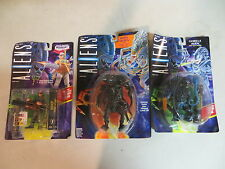 KENNER ALIENS QUEEN ALIEN BISHOP AND GORILLA ALIEN 3 FIGURE SET