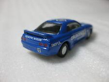 Nissan Skyline GT-R Racing #12 BNR32 1990 Kyosho 1:100 Scale Diecast Model Car