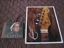 Eric Clapton CLAPTON +1  Factroy Sealed US Gold CD with A Guitar Photo Sheet