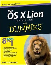 Mac OS X Lion All-in-One for Dummies by Mark L. Chambers (2011, Paperback)