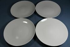 4 Set IKEA White DINNER PLATES 17303 Retired HTF
