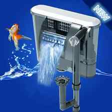 XP-09 Ultra Silence External  Fish Tank Aquarium Slim Hang on Waterfall Filter M