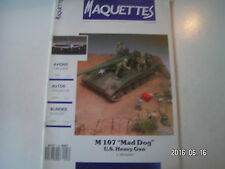 ** Maquettes n°18 DC-9 / F 86 F 30 Sabre / SD Kfz 223 / M 107 Mad Dog