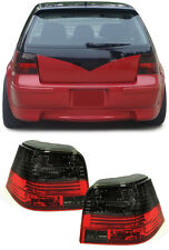 CRYSTAL SMOKED REAR TAIL LIGHTS FOR VW GOLF MK4 09/1997 - 09/2003 NICE GIFT