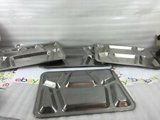 Vintage Stainless Steel Metal US Military CARROLLTON Mess Hall Prison Food Tray