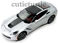 Maisto 2014 Chevrolet Corvette C7 Stingray Z51 1:18 Exclusive ED. 38132 Silver