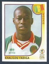 PANINI KOREA/JAPAN WORLD CUP 2002- #057-SENEGAL-KHALILOU FADIGA