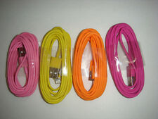 4x Mix Color 3M/10Ft Usb charger data sync cord for iphone5 5s 6 plus ios8  #kk