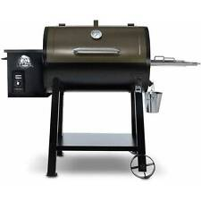 Pit Boss Grill Pellet 440 Deluxe Wood Smoker Traeger BBQ Porcelain-Coated Steel