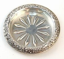 Kirk & Son Inc All Sterling Repousse Coasters