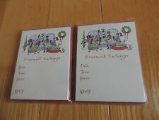 NEW Christmas Ornament Exchange Invitations Greeting Cards 30 pcs (L69)