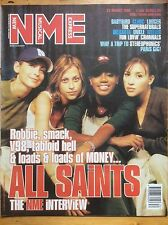 NME 22/8/98 All Saints cover, Supernaturals, Clinic, Babybird
